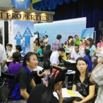 The crowd during PiHex Sandakan which was held recently.