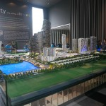 Model of i-City township with current and proposed development.