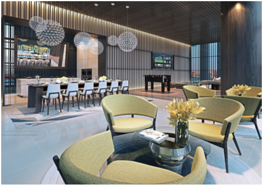 Novum's Celebrity Kitchen will provide an exceptional dining experience.