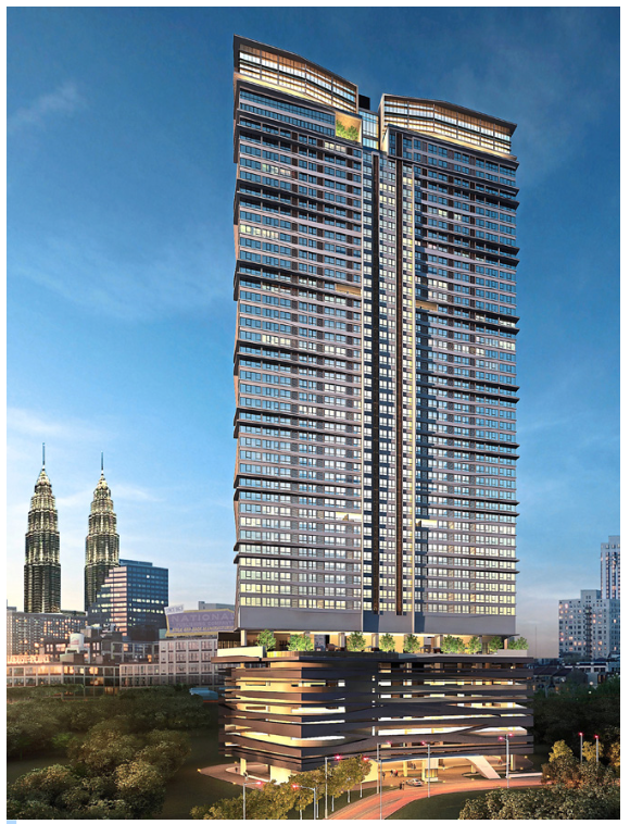 8Kia Peng stands tall above the rest and is a single tower block with CONQUAS compliance standard.