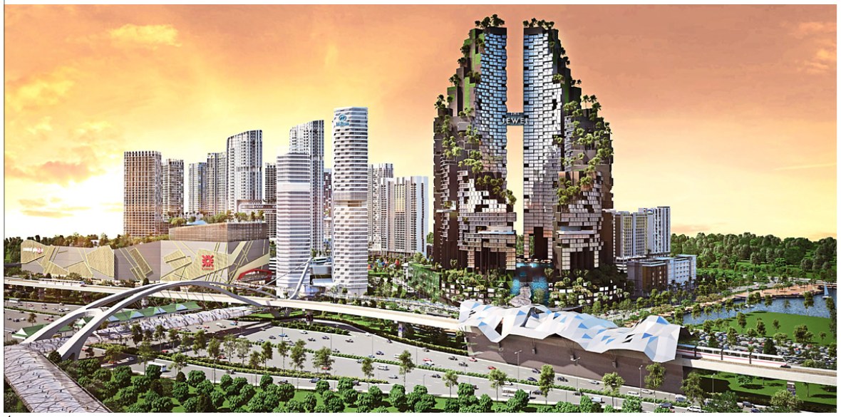 I-City is a RM9bil integrated ultrapolis development spread across 72 acres of freehold land in section 7, Shah Alam the capital city of Selangor.