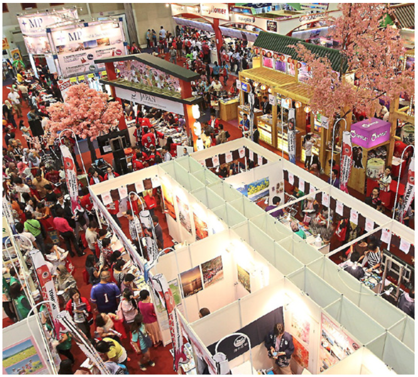 The MATTA Fair was packed from day one to day three. (MATTA Fair 2015 at PWTC, Kuala Lumpur.)