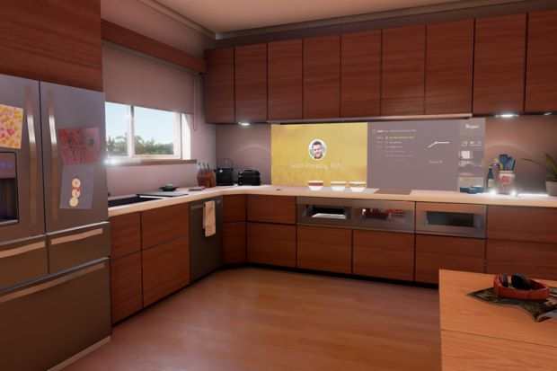 Lofty aim: Whirlpool's interactive kitchen promises to make cooking hassle-free. — AFP Relaxnews