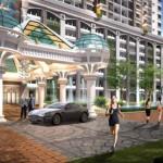 An artist's impression of the Starhill Luxury Condominium in Bukit Gambir, Penang.