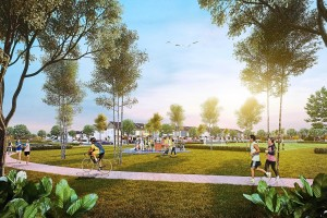 Bandar Rimbayu encases vast green areas, that will offer spatial freedom for the community to enjoy.