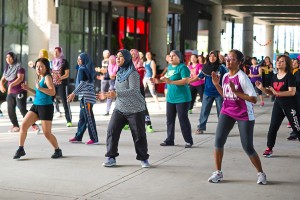 Zumba classes are enjoyed by residents, held every Sunday at 8.30 in the morning.
