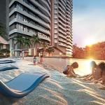 Artist Impression of Sky Beach at Setia Sky Seputeh.