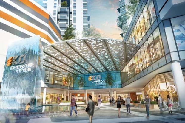 EkoCheras Mall is part of a transit-oriented development that provides comprehensive transport links.