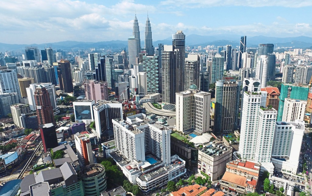 Bukit Bintang skyline pictures focusing on hotels. IZZRAFIQ ALIAS / The Star. February 18, 2016.