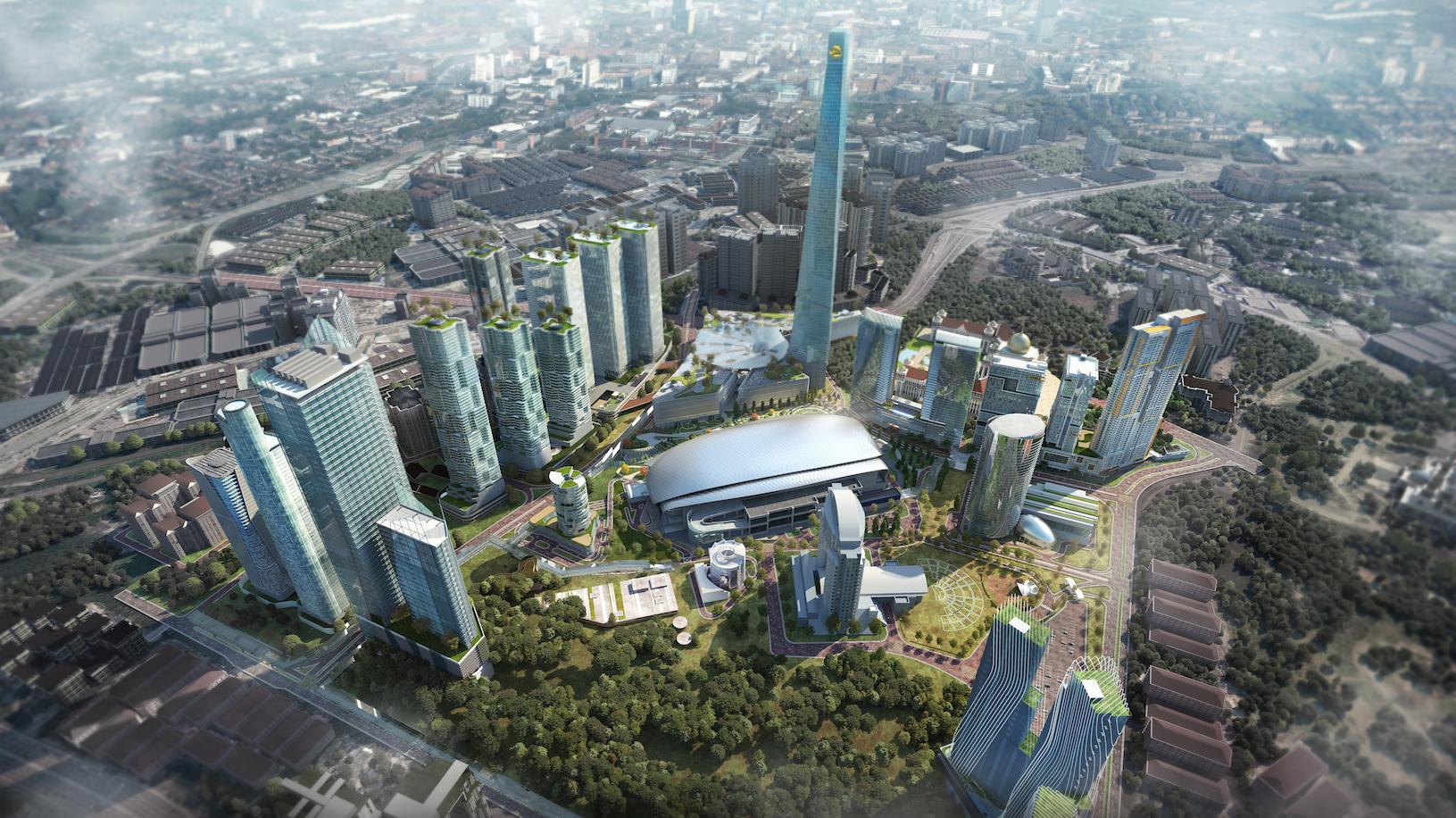 The Masterplan Of KL Metropolis