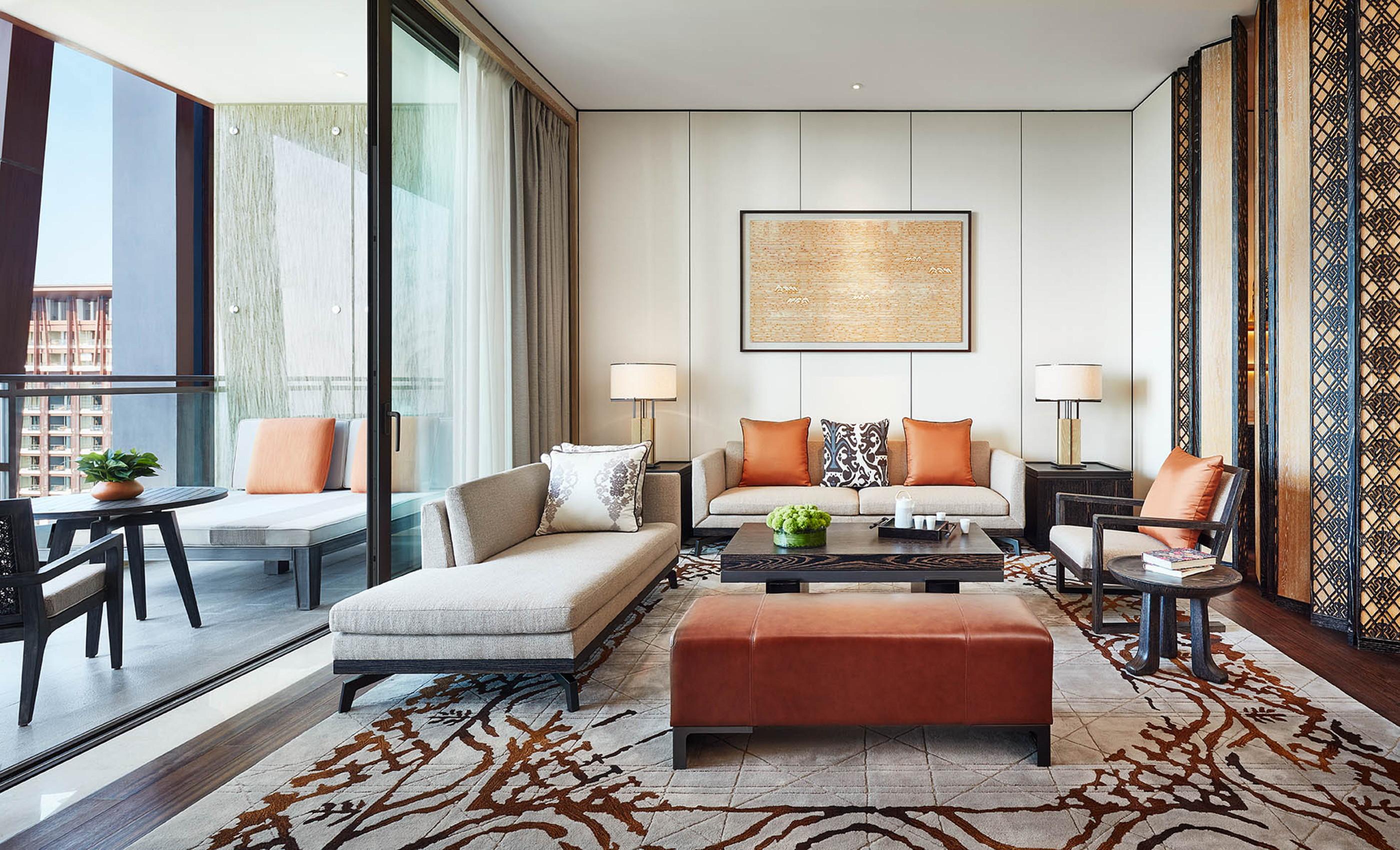 Ltw unveils design for grand hyatt sanya haitang bay for Grand living room