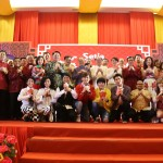 Group photo of Setia management with all Astro artistes at Setia's Perfect Reunion in Johor