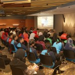 Setia Caring Agents listening attentively to the presentation given by Ms. Kim Lim Co-Founder of The Picha Project.