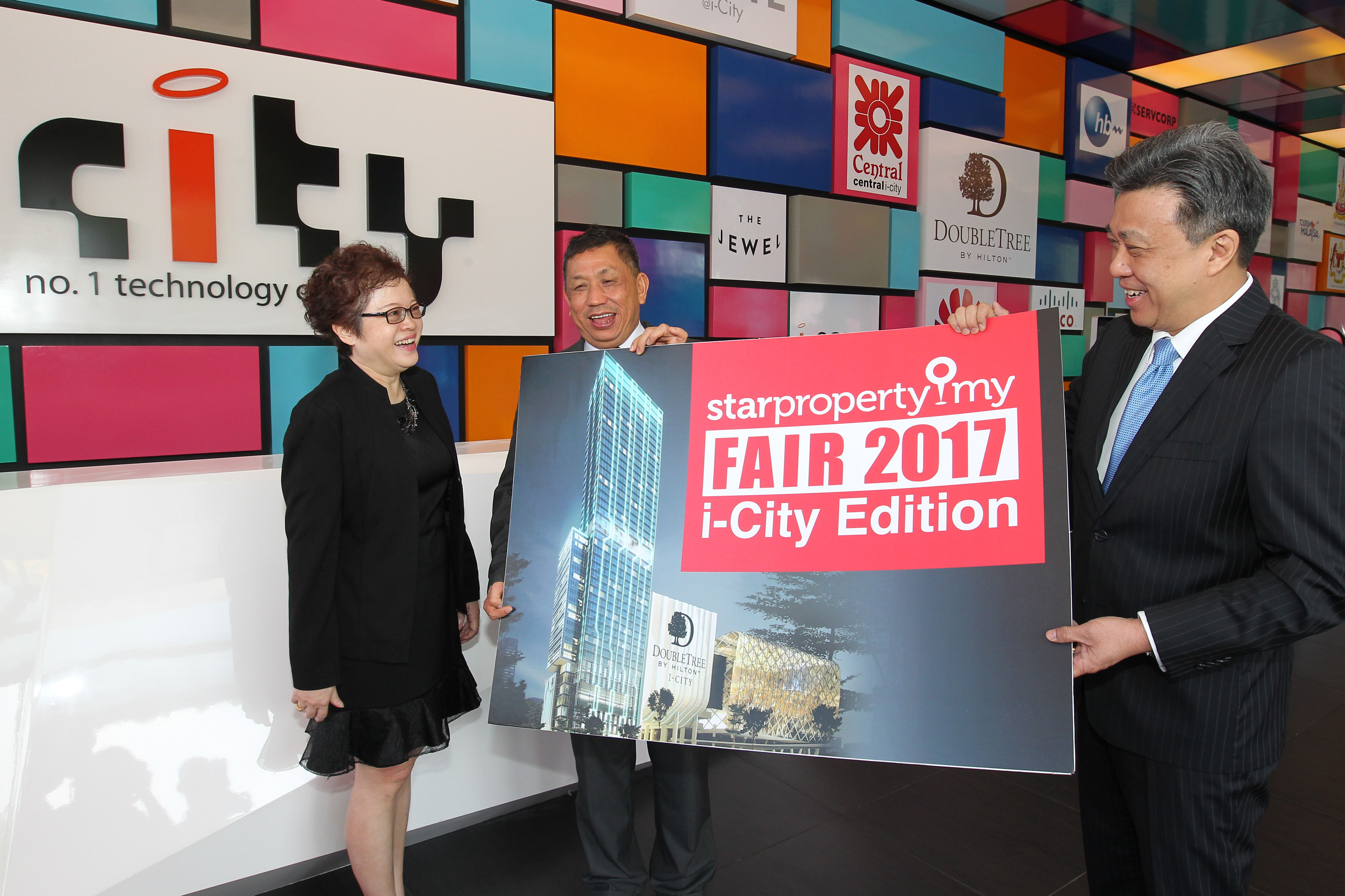 StarProperty Fair presentation by i-City director Monica Ong, February 21, 2017. GLENN GUAN/The Star