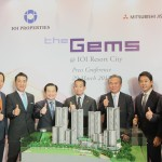 (From left) IOIPG chief operating officer (Property Investment) Cheah Wing Choong, IOIPG chief operating officer (Property Development) Teh Chin Guan, Mitshubishi Jisho Residences Co., Ltd International Businees Department general manger Tomohiko Eguchi, IOI Group executive chairman Tan Sri Datuk Lee Shin Cheng, IOIPG chief executive officer Lee Yeow Seng, Mitsubishi Jisho Residence Co., Ltd managing executive officer Mitsuhiro Maeda, Mitsubishi Estate Asia Pte. Ltd managing director Shojiro Kojima, Mitsubishi Estate Asia Pte. Ltd. Executive director Jiro Mearashi and IOI Corporation Berhad chief executive officer Datuk Lee Yeow Chor at the press conference today