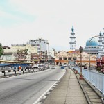 The bridge crossing the Klang River into Little India where the Royal Town of Klang Heritage Walk starts. – CHU WEI SIN