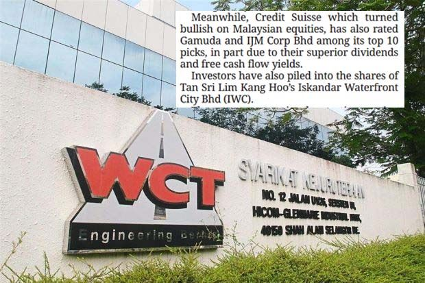 WCT Holdings Bhd, Malton Bhd, Gamuda Bhd, Fajarbaru Bhd and WZ Satu Bhd were among the top gainers last week. Speculation is rife that large government projects will be farmed out soon. During the week, the foreign investors bought RM939.9mil worth of Malaysian equities compared with local institutions who remained net sellers at RM837.8mil.