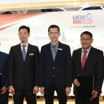 With the preferred real estate agencies (from left); Seow Lee Cheong, Datuk Adrian Wang, Janet Poh, Aldrin Tan, Raymond Cheah, Anwar Syahrin Abdul Ajib, Lee Meng Tuck, See Kok Loong, David Ong and Valentine Yong Chu Kian.