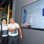 Prestigious address: (From left) I-Bhd information manager Tang Soke Cheng, Ong and I-Bhd executive chairman Tan Sri Lim Kim Hong at the launch of I-Bhd's Hill10 Residence i-City logo.