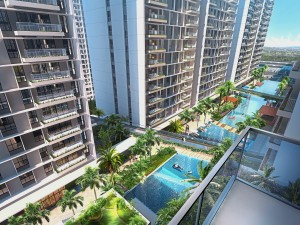 Residents of Vertu Resort will be able to enjoy one of the longest residential swimming pools in Asia measuring 152 metres.