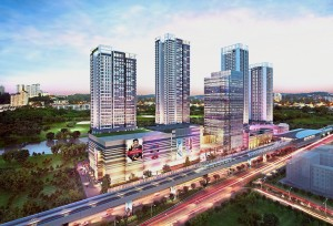 Tropicana Gardens is a TOD development directly linked to the Surian MRT station.