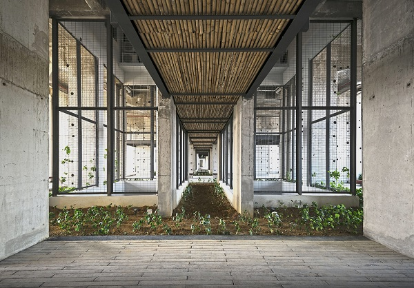 F3 Capital has used a hybrid design that incorporates plants and materials peculiar to Malaysia's cultural scene.