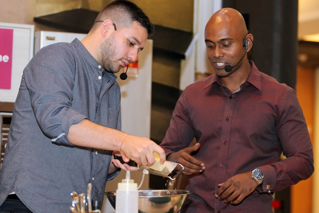 Cook and dine event with celebrity chef Nik Michael Imran, May 24, 2017