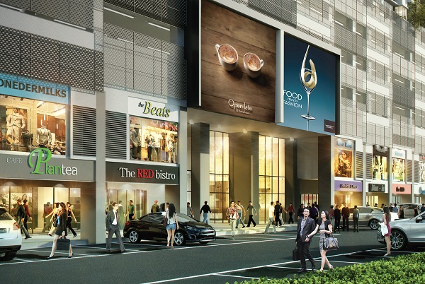 Artist impression of Savanna Lifestyle Shops.