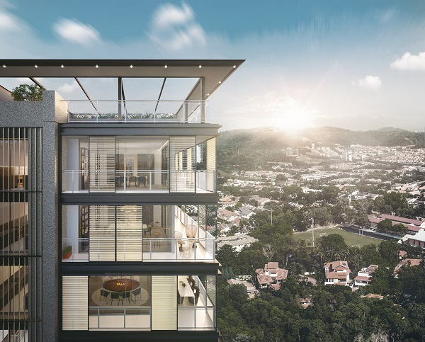 AIRA Residence - located at the peak of Jalan Batai, Damansara Heights.