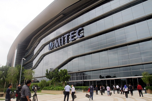 The Malaysia International Trade and Exhibition Centre (MITEC) in Kuala Lumpur.