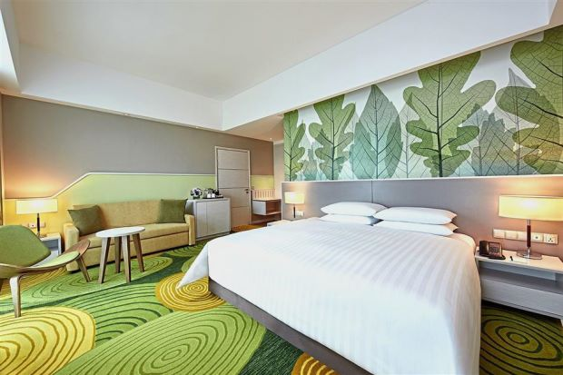Mid market hotel opens within mixed development for Sofa bed xuat khau