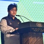 YB Dato' Seri Azalina binti Othman Said, Minister in the Prime Minister's Office, officiates the Launch.