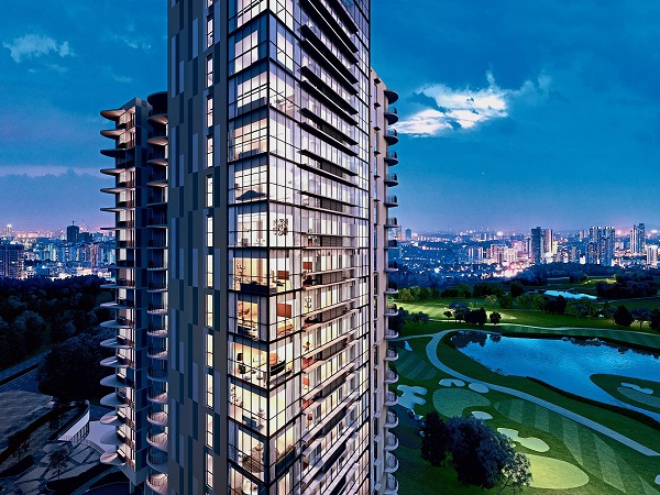 Senada Residences is an integrated development that sits in the lush greenery of Asia's premier golf courses.