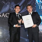 Most Transacted Award (from left) Tech Real Estate team leader Terrence Tih and Star Media Group chief executive officer Datuk Seri Wong Chun Wai.
