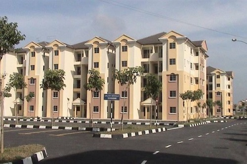 One of Syarikat Perumahan Negara Bhd's affordable housing projects, located in Shah Alam.