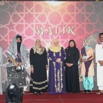 Media members who were selected for the Best Dressed competition with the theme 'Arabian'.
