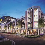 An artist's impression of The Vervea Commercial Precinct in Aspen Vision City, Batu Kawan, on the Penang mainland.