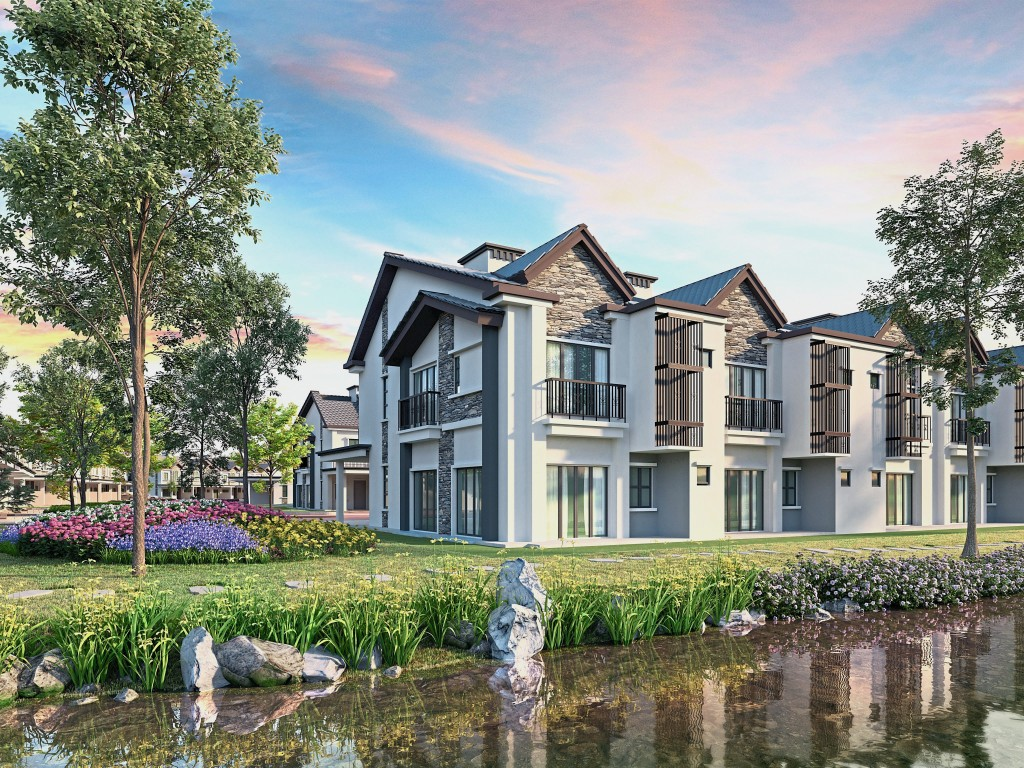 The Jewels of Grasmere in the Setia Eco Glades collection offers beautiful homes that centre on natural elements.