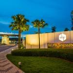 The grand entrance to Eco Business Park I.
