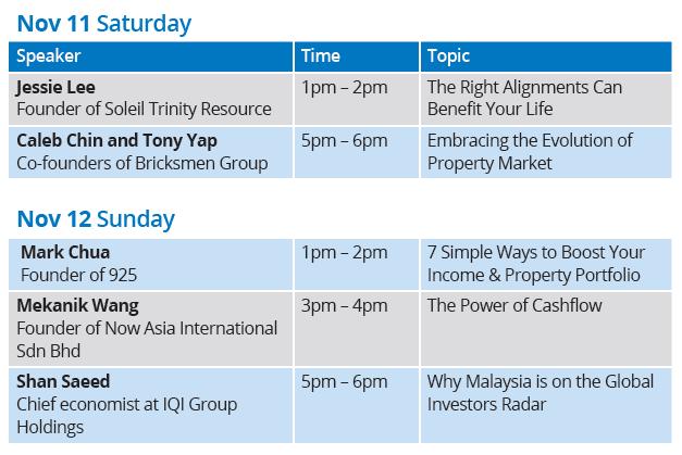 KLCC Fair talk schedule