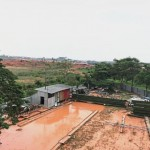 Factory owners and residents claim that land-clearing activities in Taman Alam Impian (behind the factory) have caused the flood in neighbouring Jalan Dato M. Sellathevan in Section 36, Shah Alam.