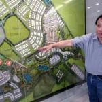 KLK Land Sdn Bhd managing director Datuk David Tan at the property gallery.