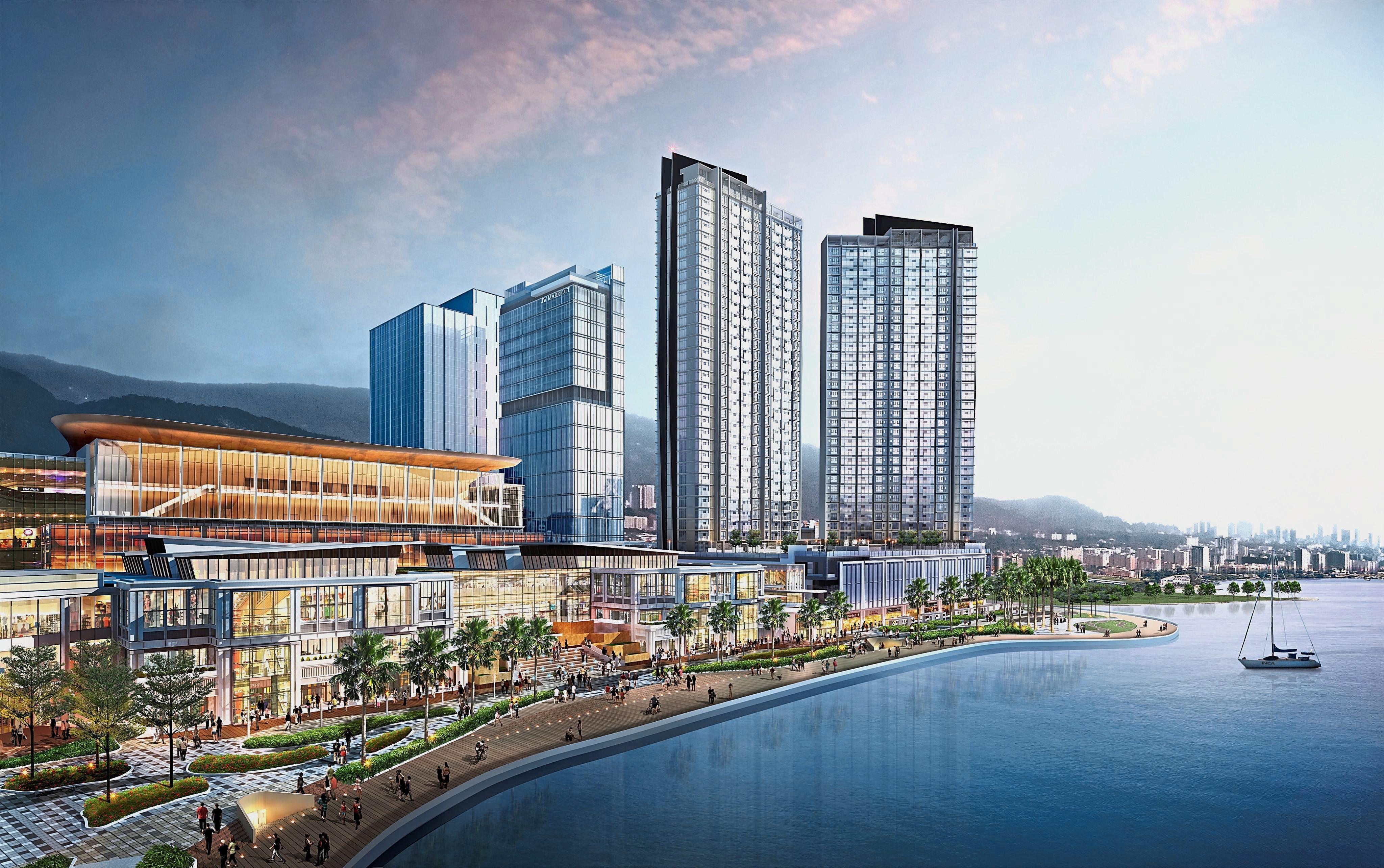 Premium Addresses At Light Waterfront Penang
