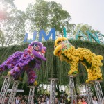 The mesmerising lion dance performance at Gong Hei Big Fun Day.