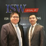 From Left: Ng Choon Yoon and Greyson Siow Wai Pin from Messrs Ismail Sabri, Wee & Wong (ISW Legal IP)