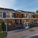 Multigenerational double-storey link homes in Athira.