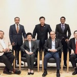 (From left) Osman, Abdul Aziz, Lau, Towle, Foo, Shamir, and Lim are part of the panel judges for this year's StarProperty.my Awards 2018.