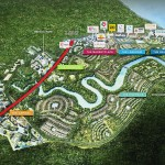 The master plan by the developer to create a holistic living experience for residents.