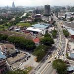 Aerial view of Jalan Kelang Lama.