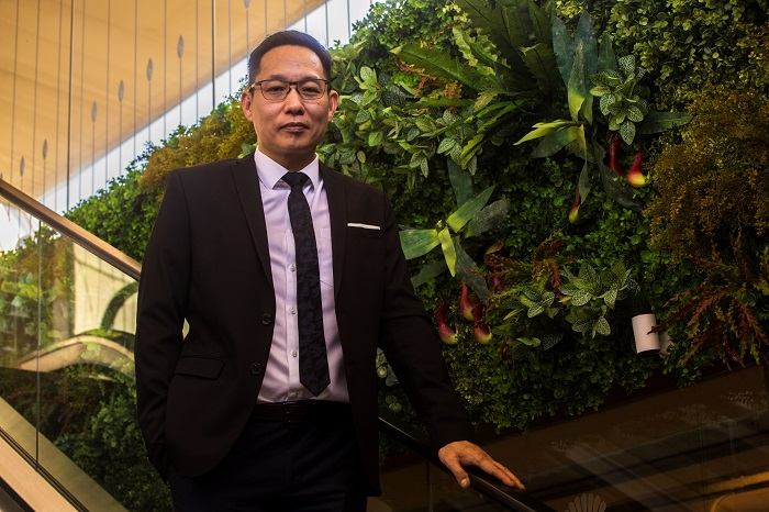 Jason Chin, General Manager of Operations for Sunway Malls.